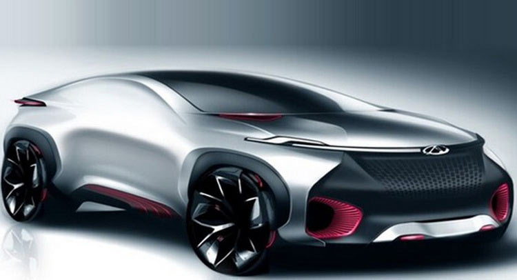 Car Brands Beginning With D >> Chery Shows Electric Crossover Coupe Concept For Beijing Show