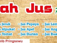 Design Banner Warung Rumah Jus Pringsewu
