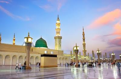 Lirik Qasidah Rindu Madinah