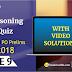 Reasoning Quiz for SBI PO Prelims: 9th June 2018