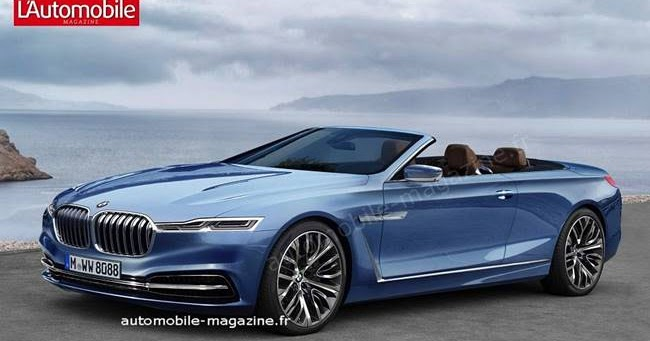 2018 Bmw 8 Series Coupe And Cabriolet Rendering Bmw Redesign