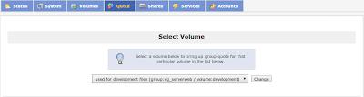 Select volume
