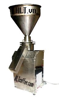 Máy xay cafe inox công nghiệp lớn - new (kiểu đứng)