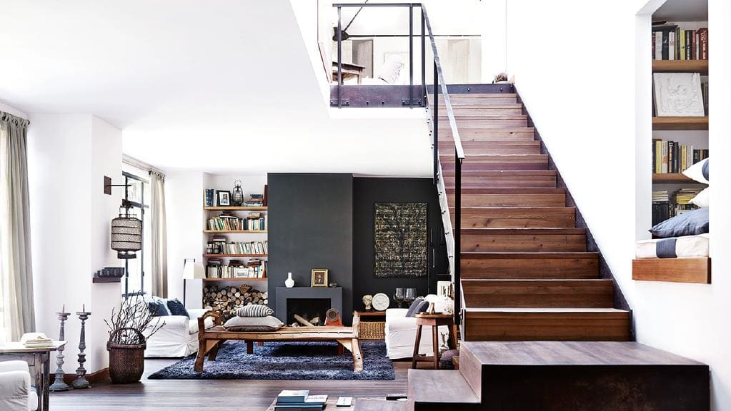 Architect Mia Buzzi Transforms An Old Factory In Milan Into A Rustic Chic Charming Home
