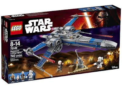 TOYS : JUGUETES - LEGO Star Wars 75149 Resistance X-Wing Fighter de Poe Producto Oficial 2016 | Piezas: 740 | Edad: 8-14 años Comprar en Amazon España & buy Amazon USA