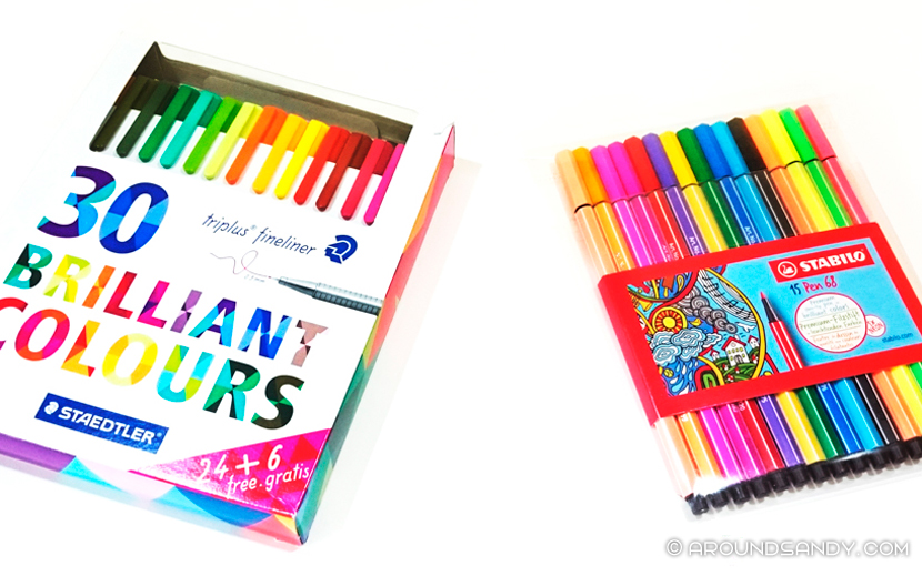 staedtler stabilo materiales bullet journal