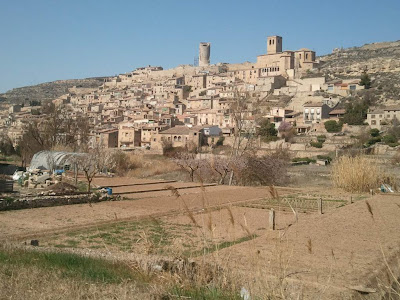 The medieval village of Guimerà