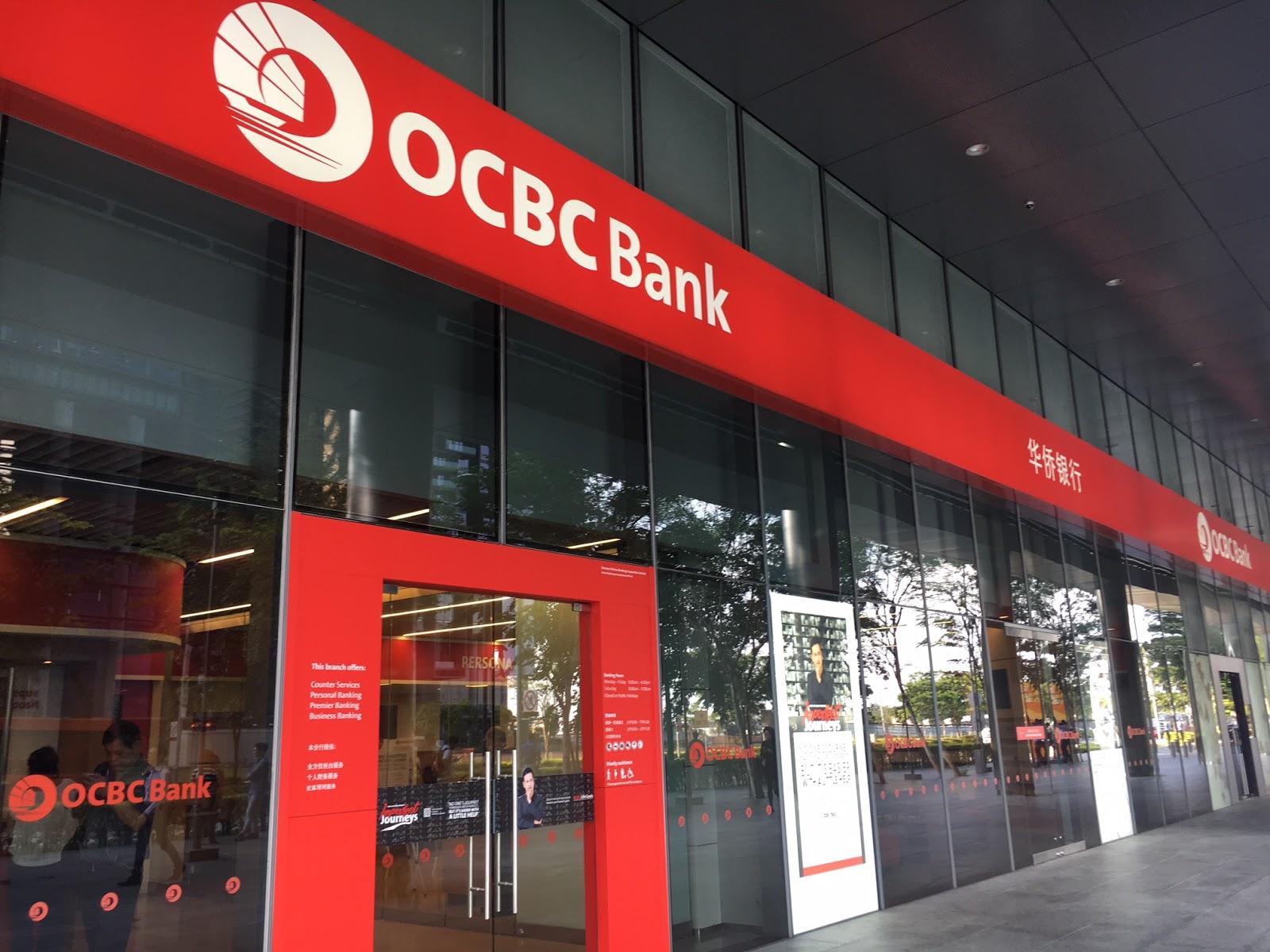 In the centre : Ocbc