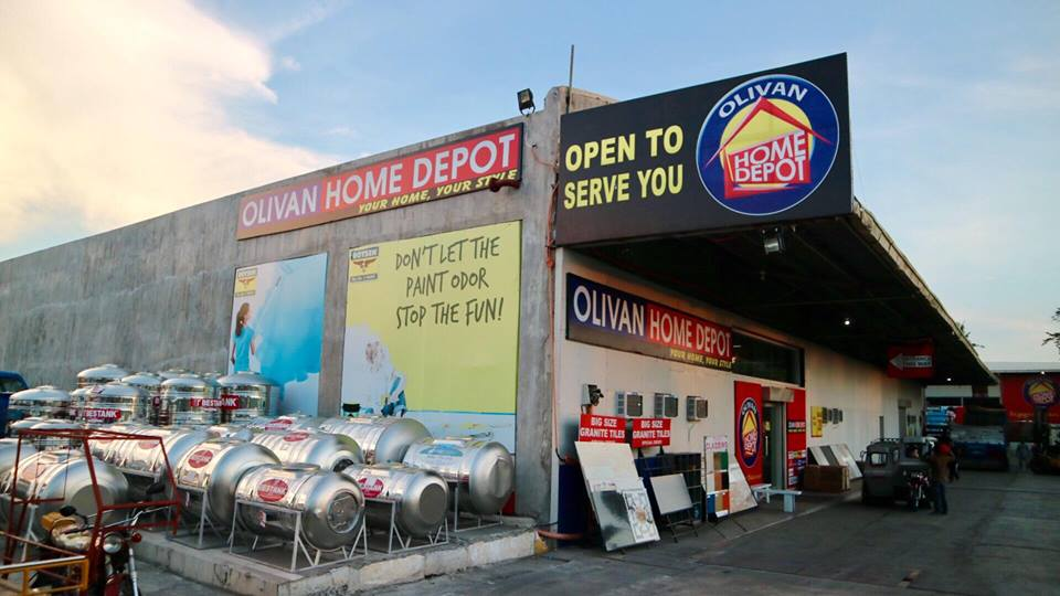 Olivan Home Depot Your Home Your Style Naga City Deck