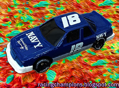 Greg Sacks #18 Navy 1991 Daytona 500 Support Our Troops Cars Military Racing Champions 1/64 NASCAR diecast blog