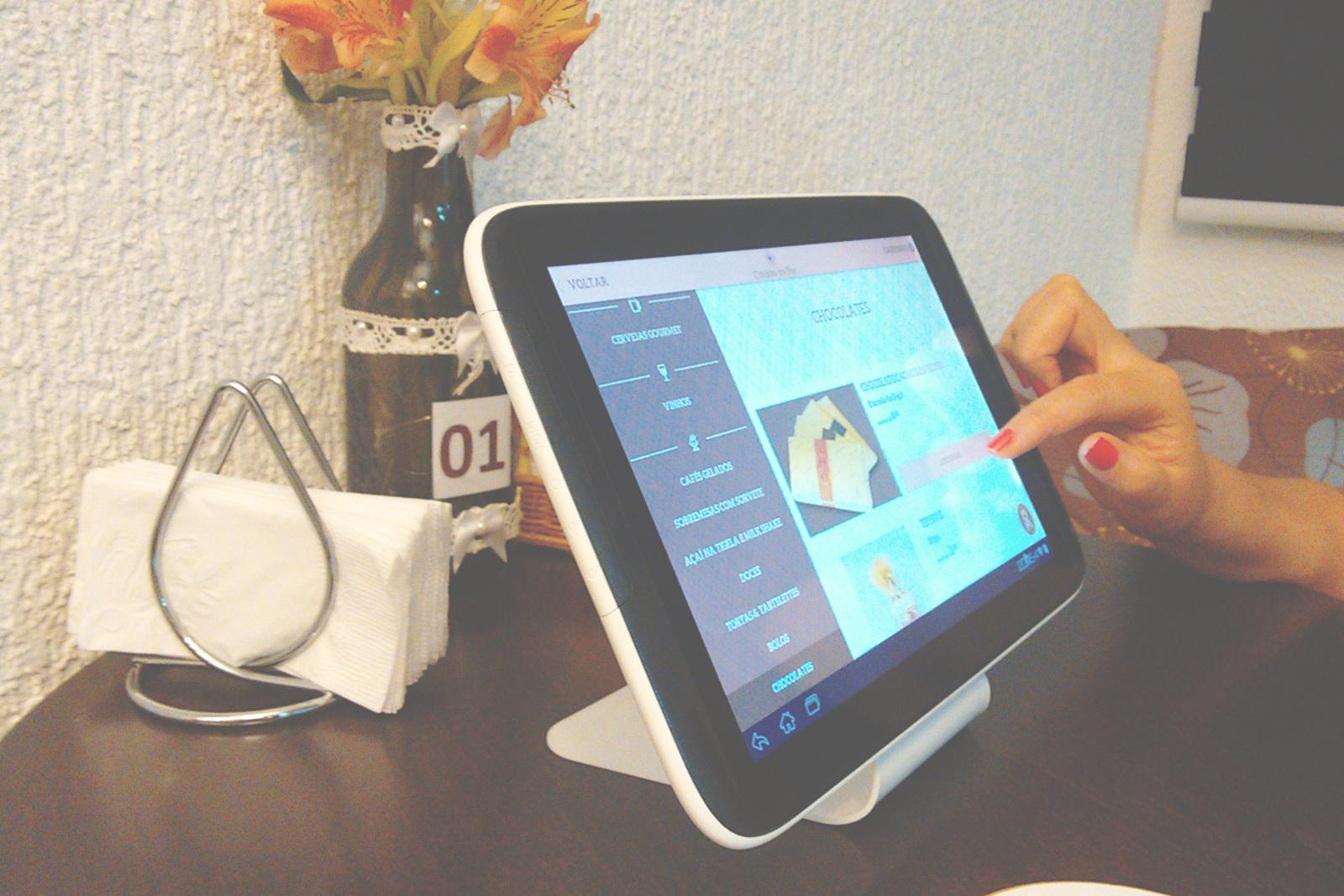 menu eletrônico Cafeteria & Doceria Cerejeira em Flor campinas