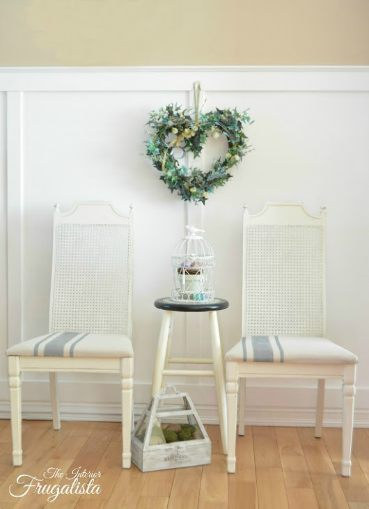 Farmhouse Cane Back Chairs