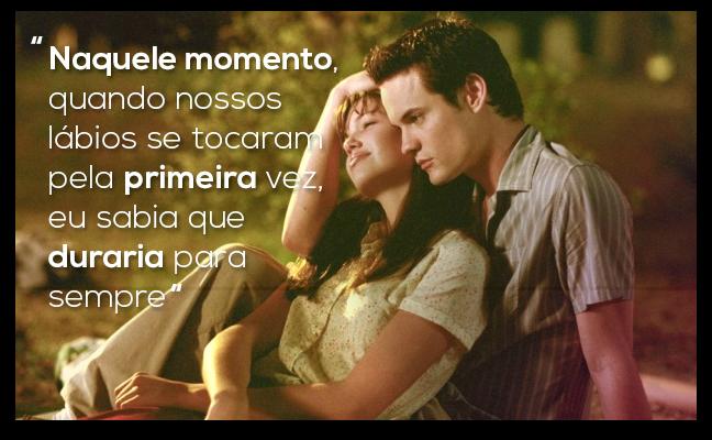 Blog Literário Filme O Melhor De Mim: As Melhores Frases De Um Amor Para Recordar: