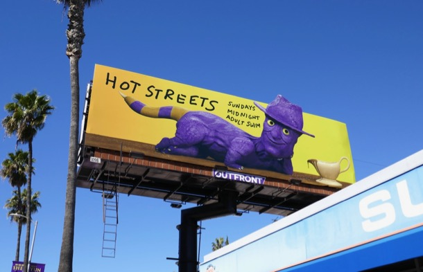 Hot Streets season 2 billboard