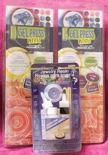 Gel Press Petites and ETI Resin
