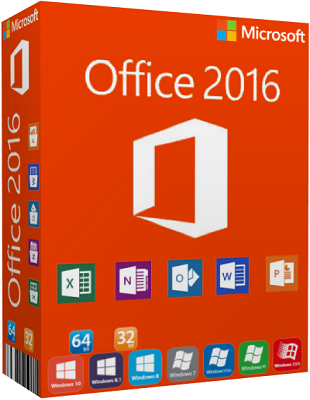 Microsoft Office 2016 ProPlus VL agosto 2017 poster box cover