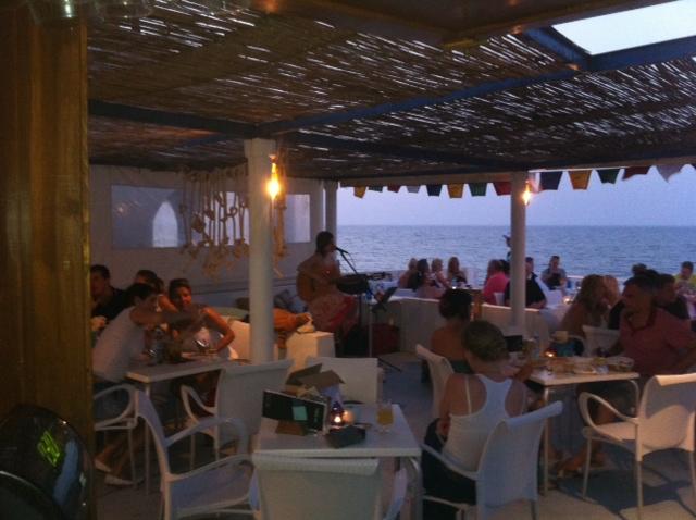 Los Banos Sunshine Bar Denia Concierto De Thais
