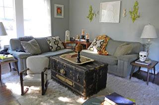 Как вписать в интерьер старую мебель