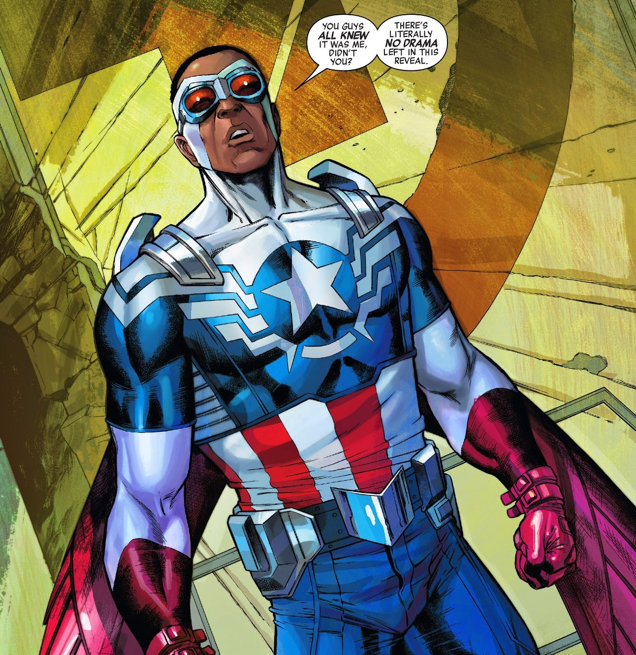 [Comic] All New Captain America.