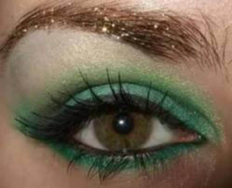 green eyes makeup - photo #14