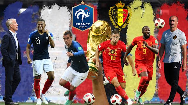 موقع يلا شوت | مشاهدة بث مباشر مباراة فرنسا وبلجيكا اليوم في كأس العالم 2018 جودة HD