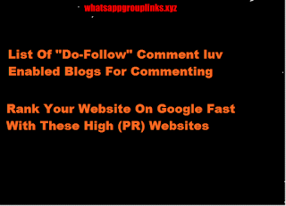 Comment-Luv-Enabled Blogs For Commenting