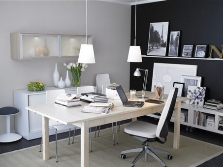Interior Office Design on Office Decoration  Best Home Office Interior Designs Appropriate On
