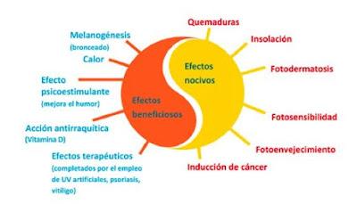 efectos nocivos del sol