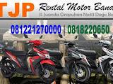 Jasa Penyewaan motor Bandung tidak jauh dari Jl. Ir. H Djuanda (Dago)