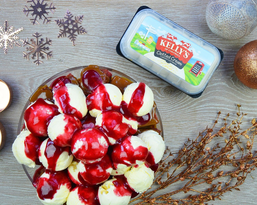 The Kelly's Christmas Ice Cream Trifle