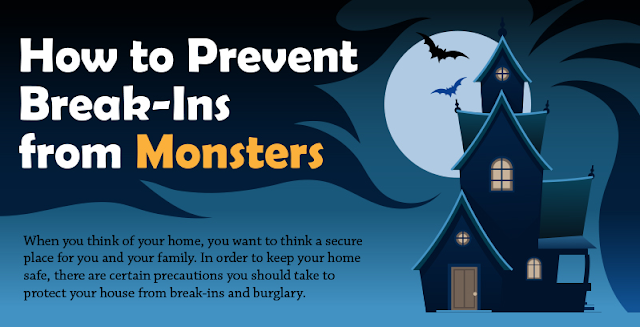Image: How To Prevent Break-Ins From Monsters
