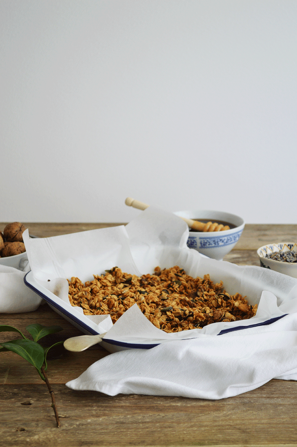 Lavender Honey Granola | oandrajos.blogspot.co.uk