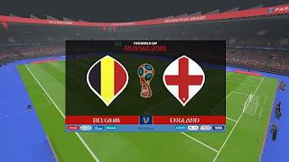 مباراة بلجيكا وانجلترا لتحديد المركز الثالث والرابع بالمونديال روسيا 2018