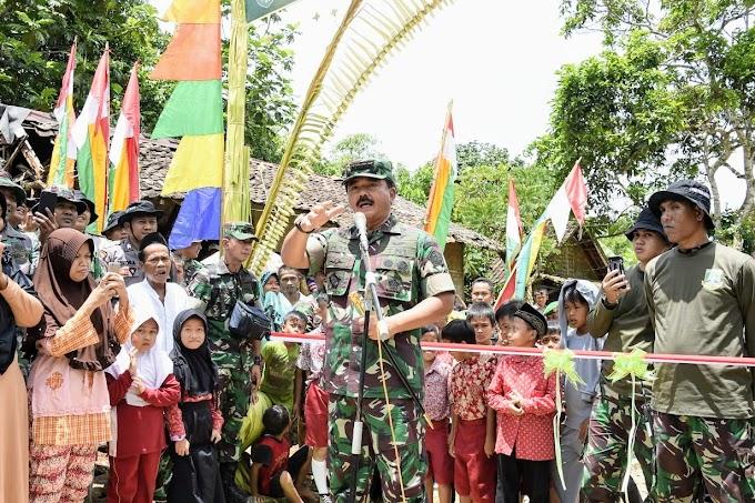 Panglima TNI : Rakyat Sumber Kekuatan TNI