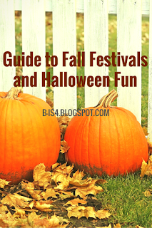 Coupons to Fall Festivals and Halloween