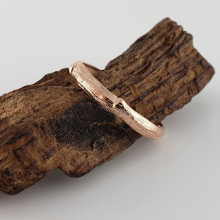Twig Branch Wedding Band