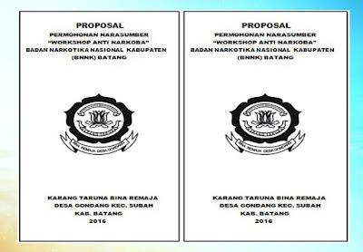 Contoh Proposal Kegiatan Penyuluhan Anti Narkoba BNN
