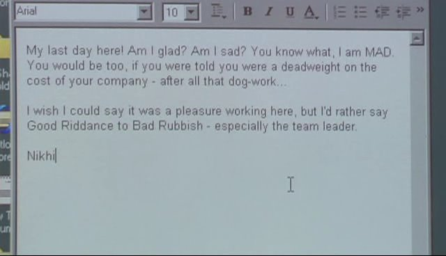 funny resignation letters - funny resignation letters
