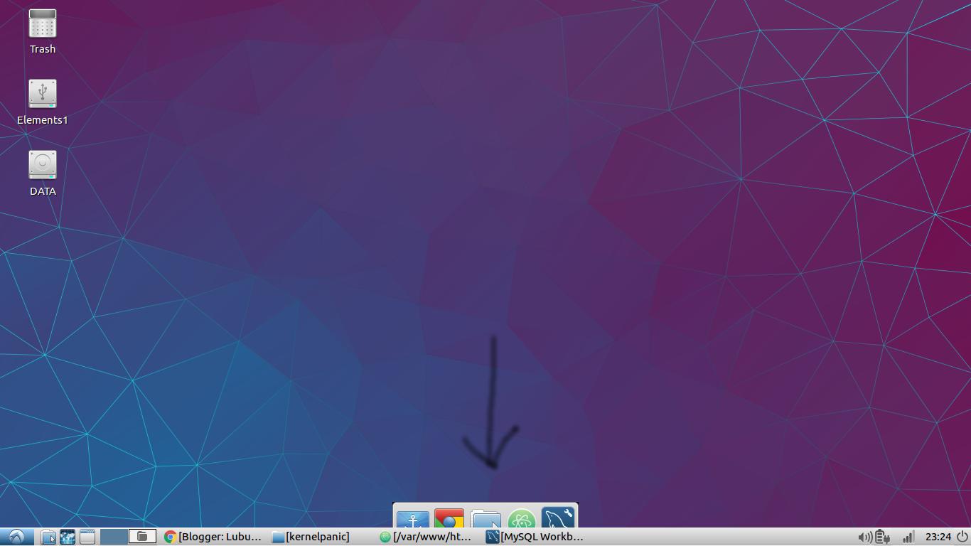 Using docky on Lubuntu - tutorials blogger