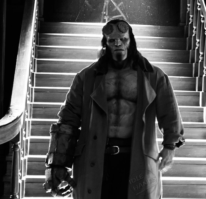 Idle Hands: Your First Look at the 2018 Movie Hellboy