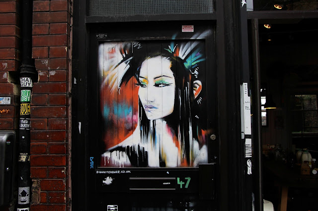 street art londres geisha Dan Kitchener