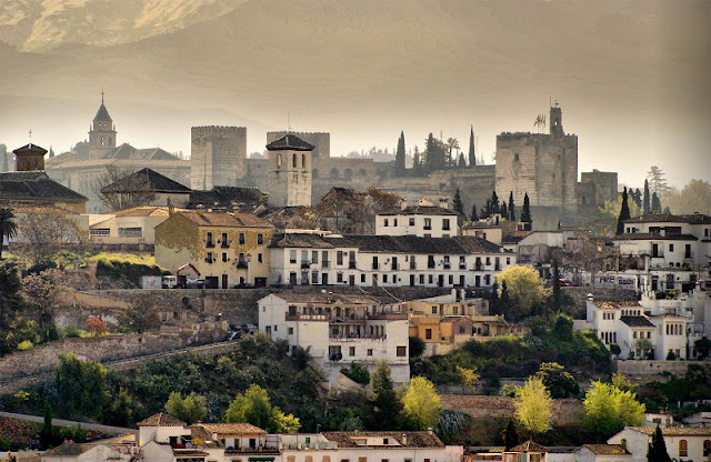 Pontos turisticos em Granada