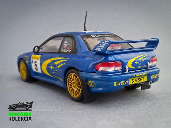 AUTOart Subaru Impreza 22b WRC Rallye Monte Carlo 1999