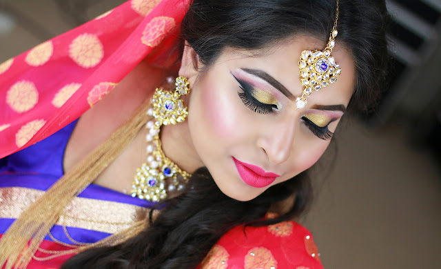 Asian Wedding Makeup | Mahiya Mahi Inspired Bridal Makeup Tutorial 2016