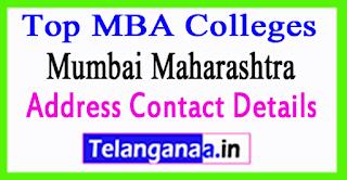 Top MBA Colleges in Mumbai Maharashtra