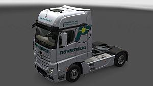 Trucksflower skin for Mercedes MP IV