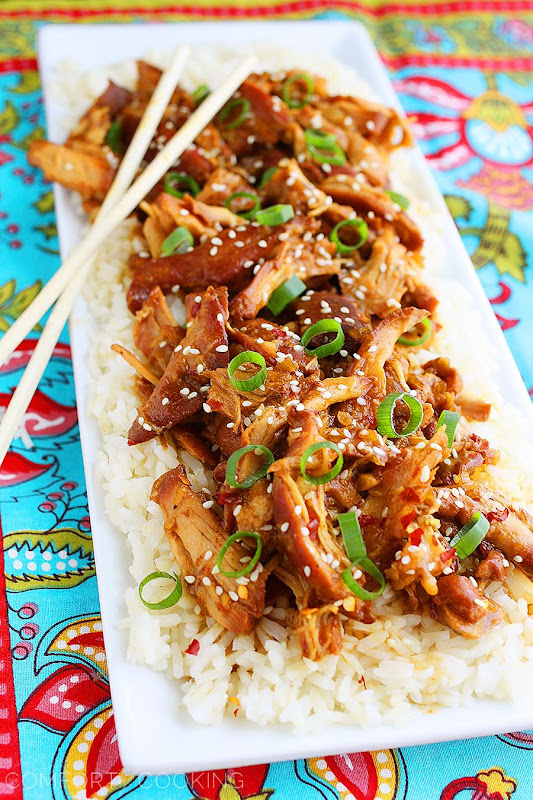 Crock Pot Honey Sesame Chicken #Recipe