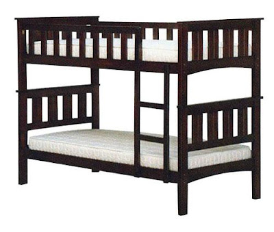 Bed frame kayu