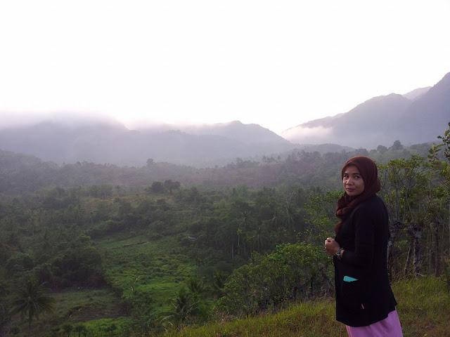Bukit Gampong Nusa Aceh