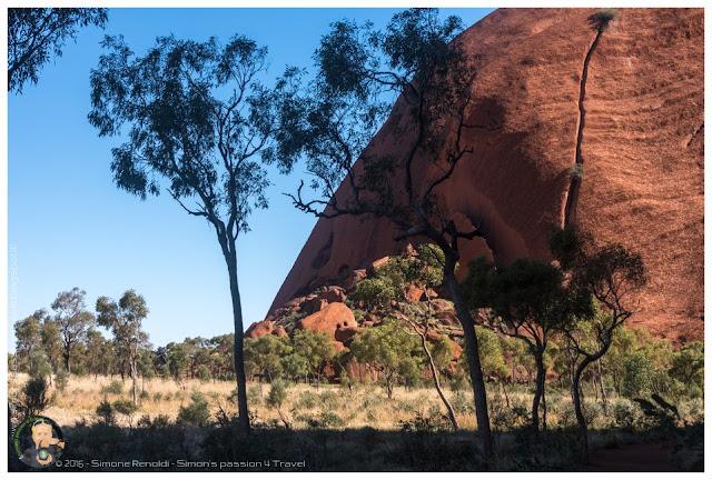 Uluru faccia